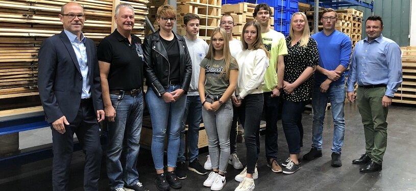 MAIER begrüßt zum Ausbildungs- und Studienstart 2019 acht junge Menschen.