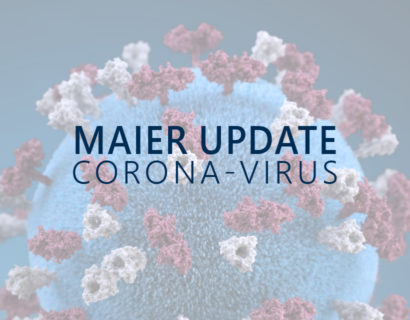 Update MAIER: Corona-Virus