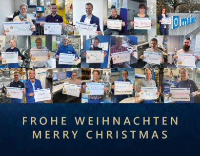 Christmas greetings from Christian Maier GmbH & Co. KG