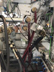 Maschinenübersicht mit 2 ausgestatteten Drehdurchführung